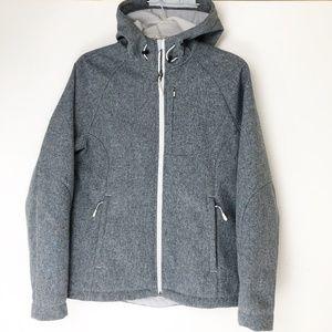 Kirkland Signature Women's Medium Gray Jacket Coat